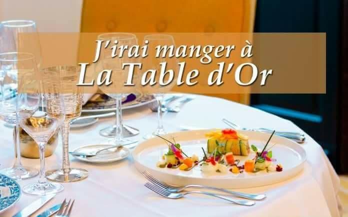 La Table d'or