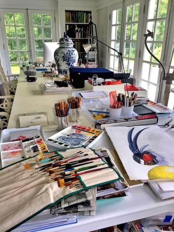 Jane London 'artiste peintre'