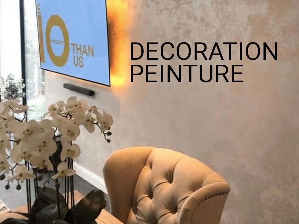 Decoration peinture